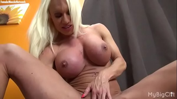 Muscled, Clit, Big clit, Muscle female