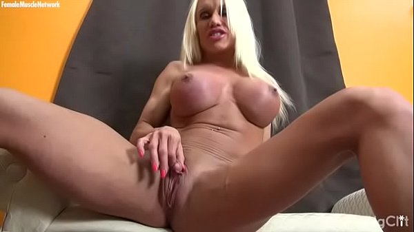 Clit, Big clit, Muscled, Muscle female