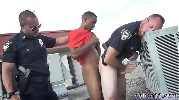 Bus, Police, Muscled, Police fuck