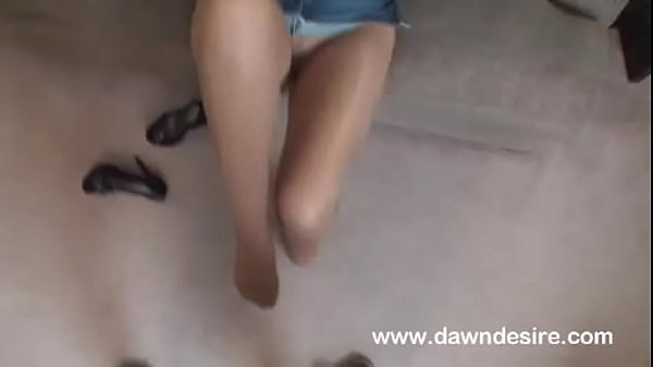 Footjob, Pantyhose footjob