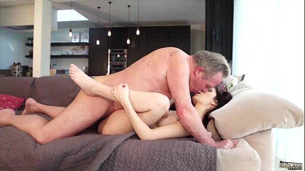 Young pussy, Swallow, Old & young, Cum in pussy