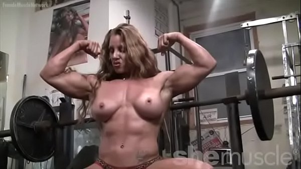 Muscled, Red head, Muscle female, Bodybuilding